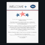 "Starfish Wedding Welcome Letter for Jamaica Letterhead<br><div class=""desc"">Have fun with your destination themed wedding. Jamaica Map with Three starfish in Colors NAVY BLUE and CORAL. If the color scheme is not what you wanted please email paula@labellarue.com BEFORE ORDERING and I&#39;ll recreate that for you. Please make sure you proof your design before submitting your order. If you...</div>"