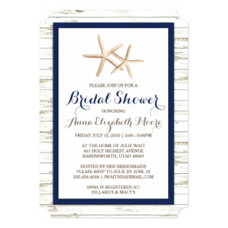 beach bridal shower gifts, Bridal shower invitations