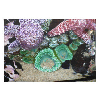 Starfishes Placemat Cloth Placemat