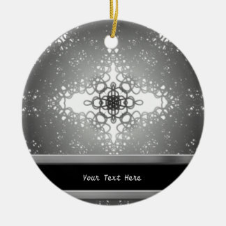 Starflake Ceramic Ornament