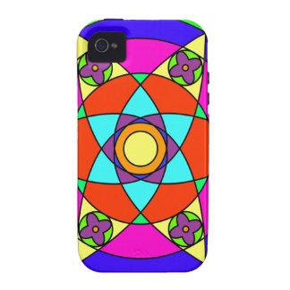Starflower Mandala iPhone 4 Cover