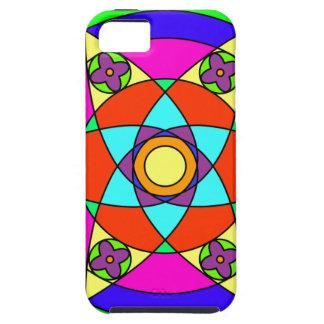 Starflower Mandala iPhone 5 Cover