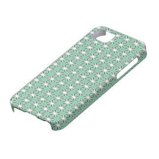 Starflower Mint iPhone 5 Cases