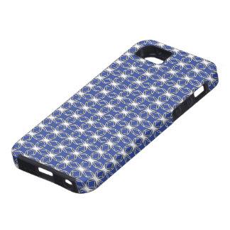 Starflower Navy iPhone 5 Covers