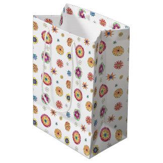Starflower Pattern Medium Gift Bag