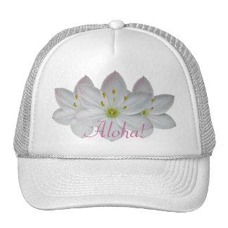 Starflower Trio of Blossoms Mesh Hats