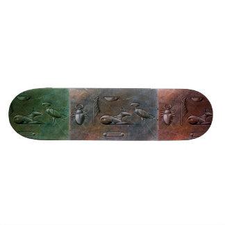 STARGATE hieroglyphs skateboard #3