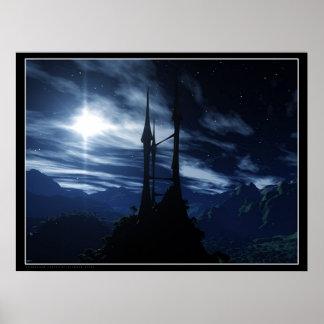 Stargazer Castle Poster