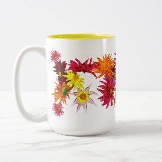 Stargazer Dahlia Mug mug