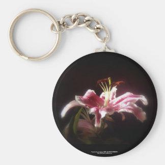 stargazer lilies #15 key chains