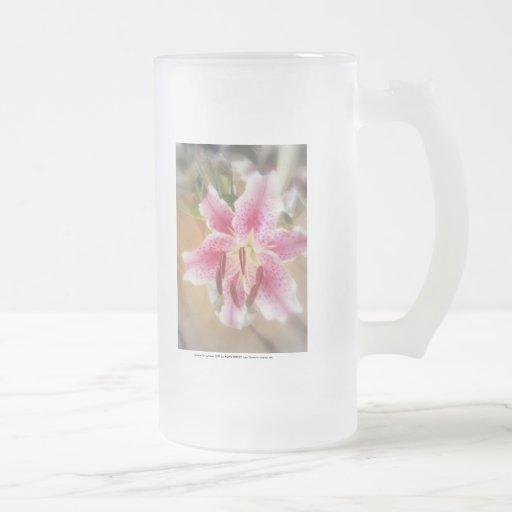 stargazer lilies #1 mug