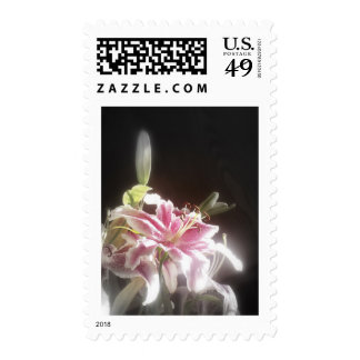 stargazer lilies #23 postage stamps
