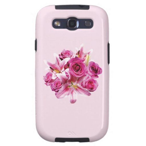 Stargazer Lilies and Roses Galaxy SIII Case