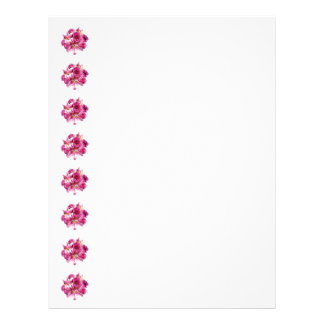 Stargazer Lilies and Roses Letterhead