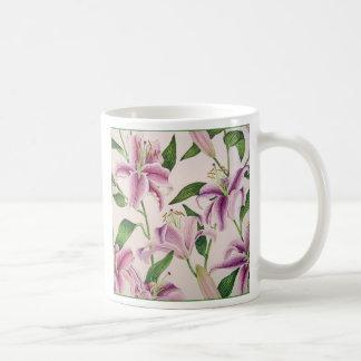 Stargazer Lilies Coffee Mug