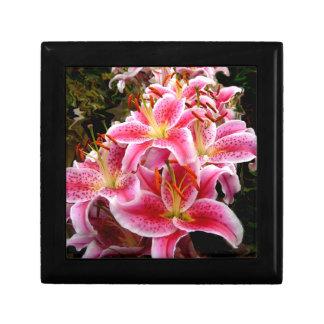 """Stargazer"" Lilies Trinket Box"