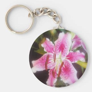 stargazer lilles #2 basic round button keychain