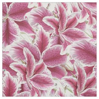 Stargazer Lilly Fabric