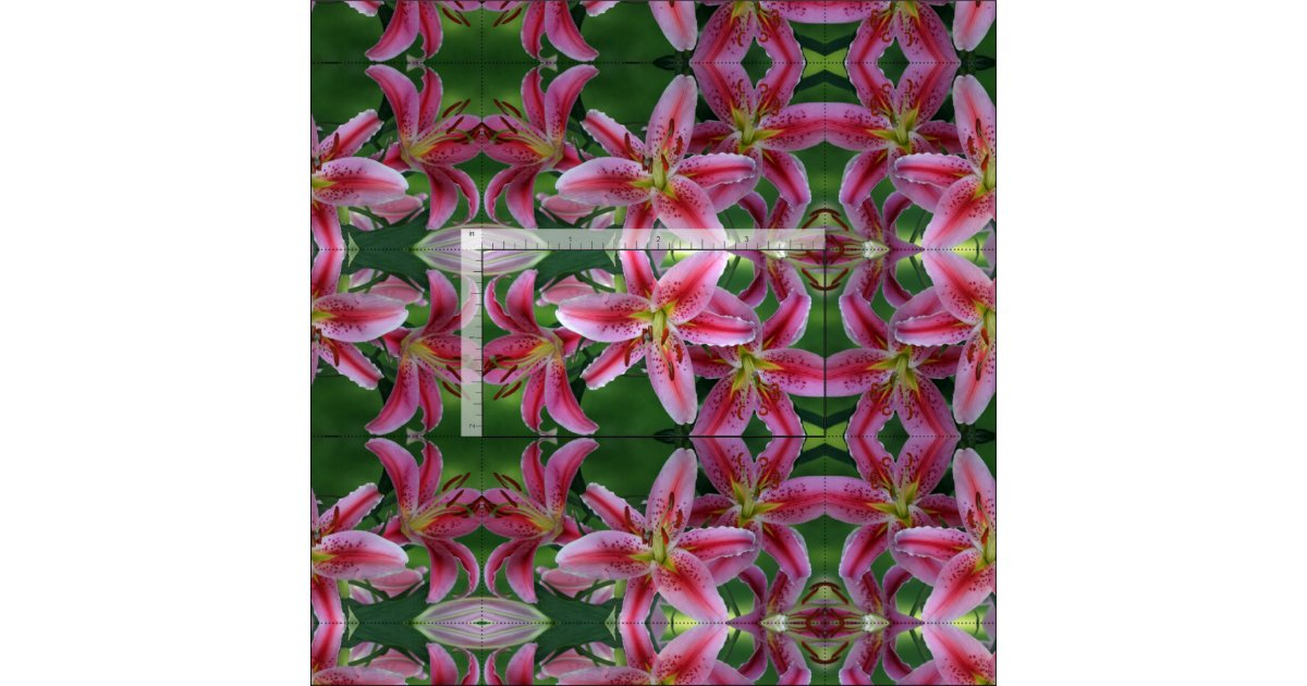 stargazer lily 8663 fabric zazzle - Stargazer Coloration