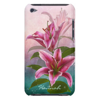 Stargazer Lily Barely There iPod Cases