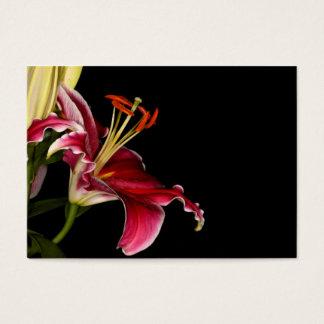 Stargazer Lily Business Card