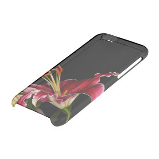Stargazer Lily Clear iPhone 6/6S Case