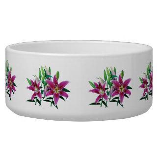 Stargazer Lily Family Bowl