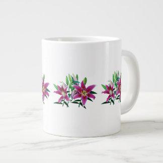 Stargazer Lily Family Large Coffee Mug
