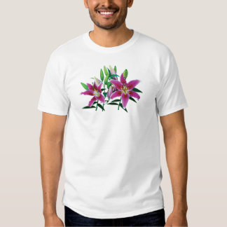 Stargazer Lily Family Mens T Shirt