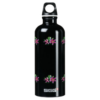 Stargazer Lily Family Water Bottle
