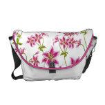 Stargazer Lily Floral Rickshaw Messenger Bag