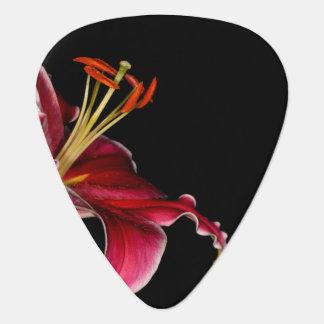Stargazer Lily Guitar Pick