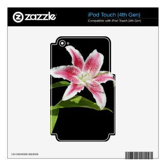 Stargazer Lily iPod Touch 4G Skin