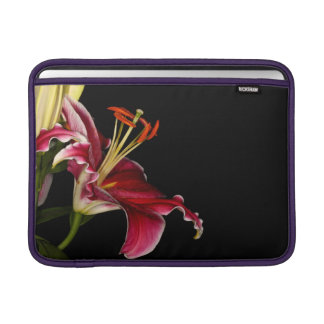 Stargazer Lily MacBook Sleeves