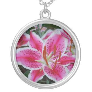Stargazer Lily Necklace