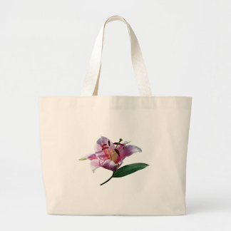 Stargazer Lily Profile Gifts Canvas Bags