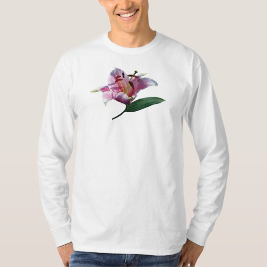Stargazer Lily Profile T-Shirt