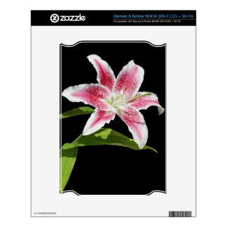 Stargazer Lily Skin For NOOK