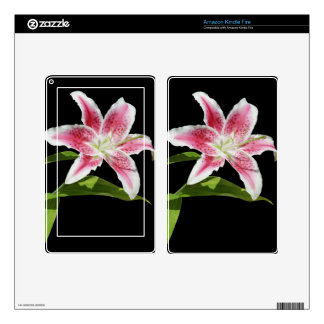 Stargazer Lily Skins For Kindle Fire