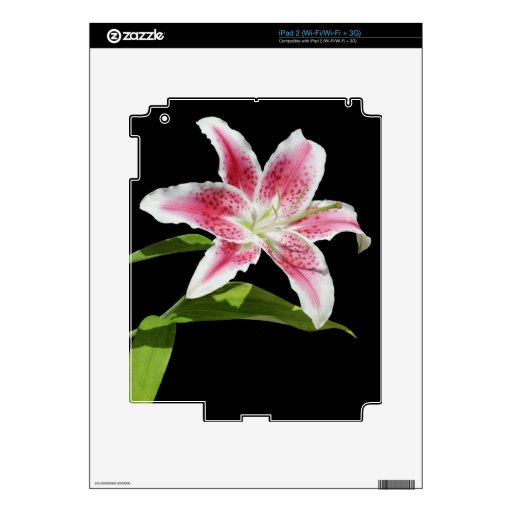 Stargazer Lily Skins For The iPad 2
