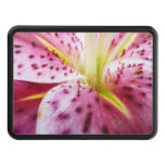 Stargazer Lily Trailer Hitch Cover