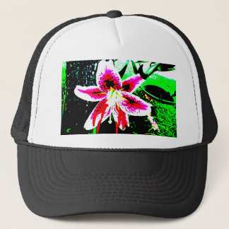 Stargazer Lily Trucker Hat