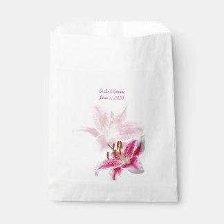 Stargazer Silhouette Wedding favor bags