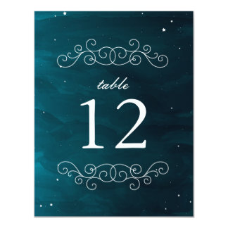 Stargazer Table Number