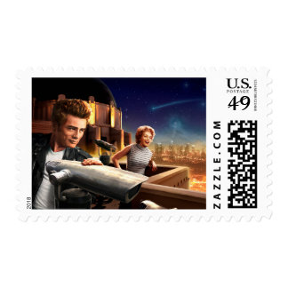 Stargazers Postage Stamp