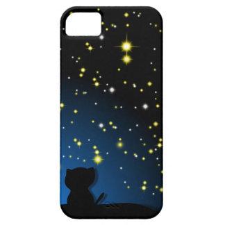 STARGAZING CAT iPhone SE/5/5s CASE