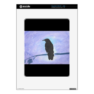 Stargazing Crow Skins For The iPad