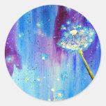 Stargazing Dandelion Sticker