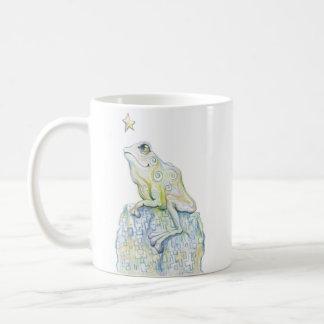 Stargazing Frog Coffee Mug