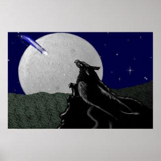 Stargazing Gryphon Print